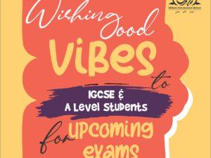 Wishing Good Vibes IGCSE, A Level | F-8