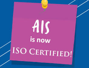 AIS is now ISO Certified!
