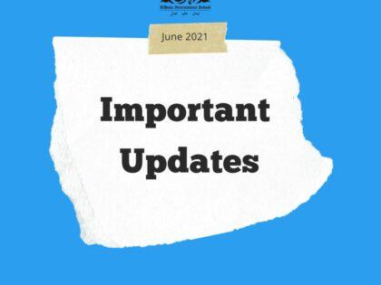 Important Updates