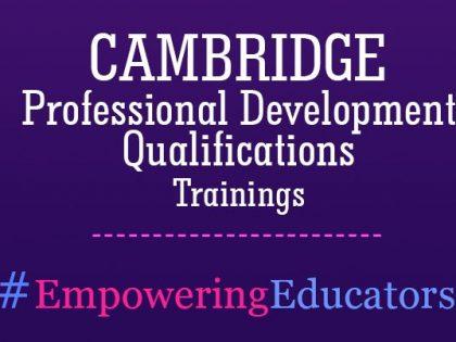 AIS Teachers Achieve Cambridge PDQ Trainings