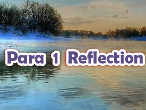 Para 1 Reflections