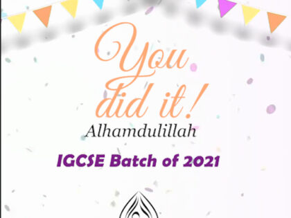 Exceptional IGCSE Results!