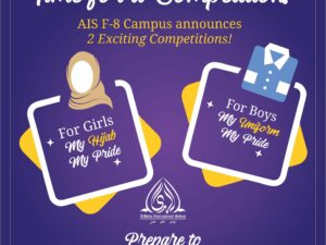 Competition Time at AIS F-8 Campus!