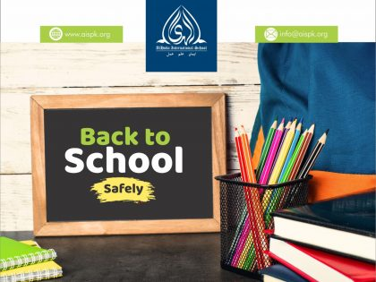 Back to School Safely!