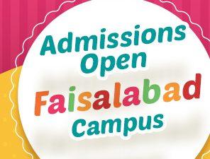 Faisalabad Campus | Admissions open