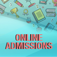 ONLINE Admissions Opening