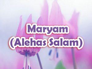 Maryam (Alehas Salam)